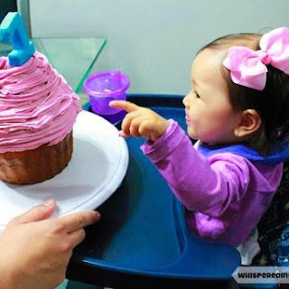 Baby's First Organic Birthday Cake