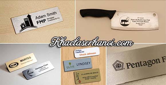 Dịch vụ in khắc laser logo tem nhãn mác giá rẻ lấy ngay tại Hà Nội. Hotline: 0961.212.830