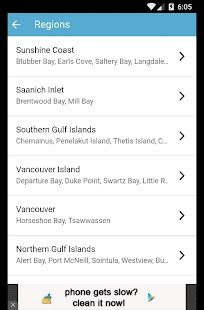 Ferries - BC Ferries Schedules- screenshot thumbnail