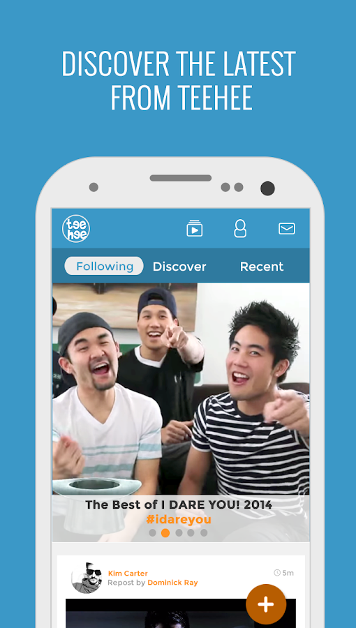 TeeHee: Official Ryan Higa App- screenshot