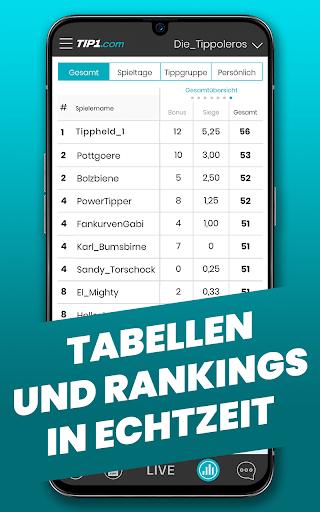 TIP1.com Tippspiel-App  screenshots 3