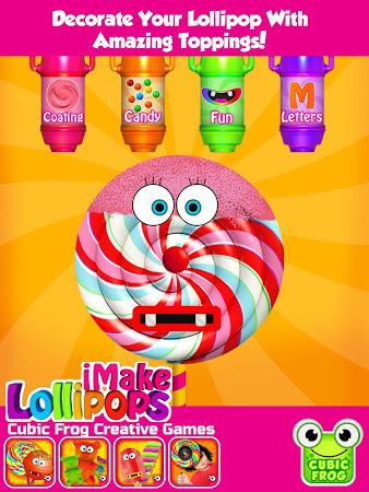iMake Lollipops - Candy Maker 6.7 screenshot 240452
