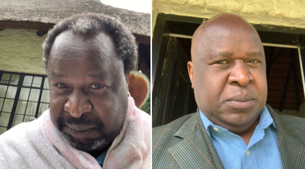Tito Mboweni has a fresh new haircut.