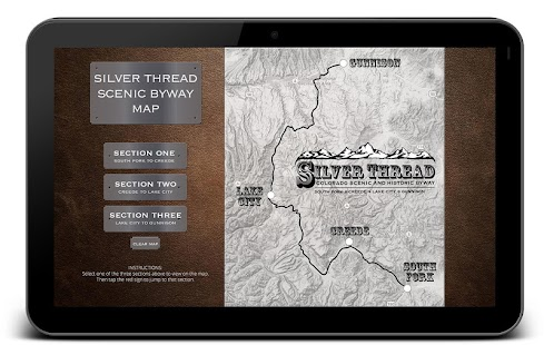 Silver Thread Scenic Byway- screenshot thumbnail