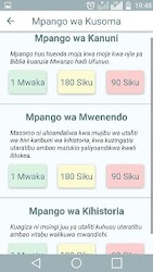 Biblia Takatifu – Swahili Bible APK Download – Free Books & Reference APP for Android 3