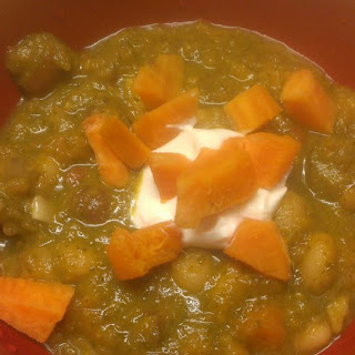 Sweet Potato and Curry Bean Soup
