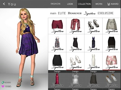 Fashion design simulation games 77