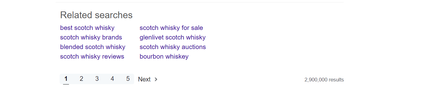 Yahoo Related Searches