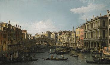 """Photo: Canaletto, """"Veduta di Rialto"""""""