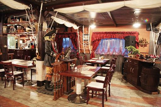 Зал ресторана «У Флинта» в ресторане Элит Кроус для свадьбы
