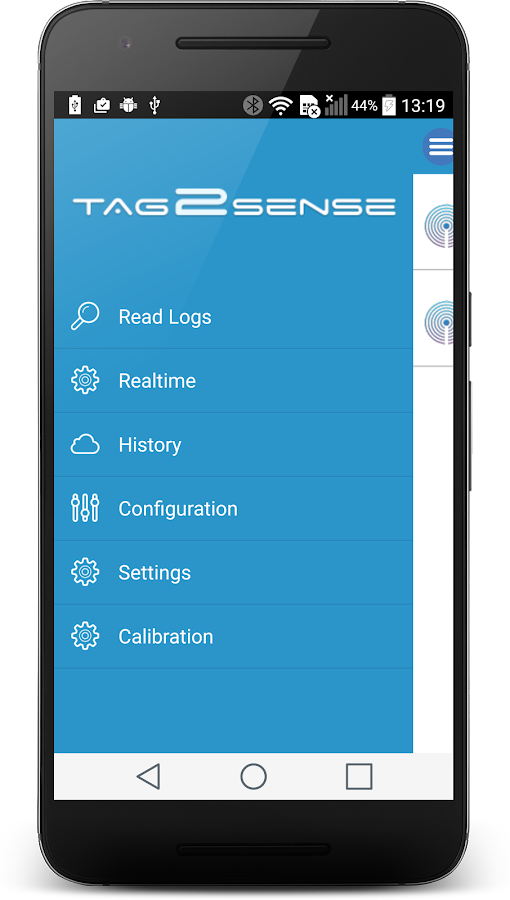 Tag2Sense- screenshot