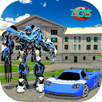 Grand Super Car Robot Flash Speed Battle Icon