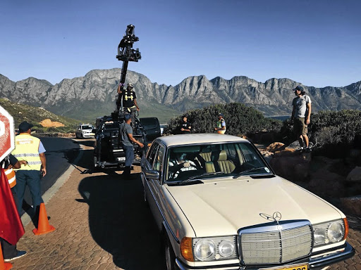 Christopher White returns to Chapman's Peak Drive 30 years after he plummeted down the side in a similar Mercedes.