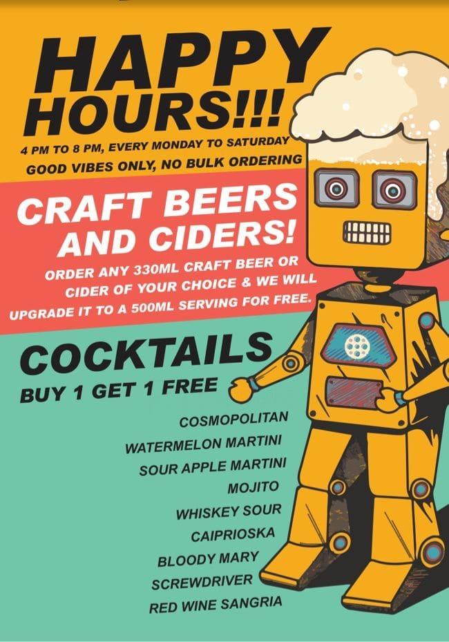 Brewbot Eatery & Pub Brewery menu 3