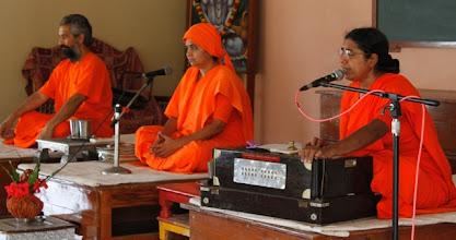 Photo: Acharyas inaugurating the Shibir