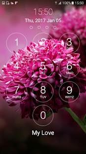 lock screen keypad - náhled
