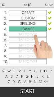 Spelling Gaps PRO Screenshot
