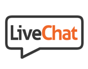 Logo for LiveChat Inc