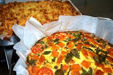 Vegetable & feta frittata (gluten free)