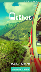 tChat – Chatting on the train screenshot 0