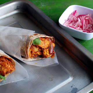 Chicken Cauliflower Kati Roll