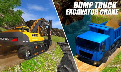 Heavy Excavator Crane: Construction City Truck 3D painmod.com screenshots 7