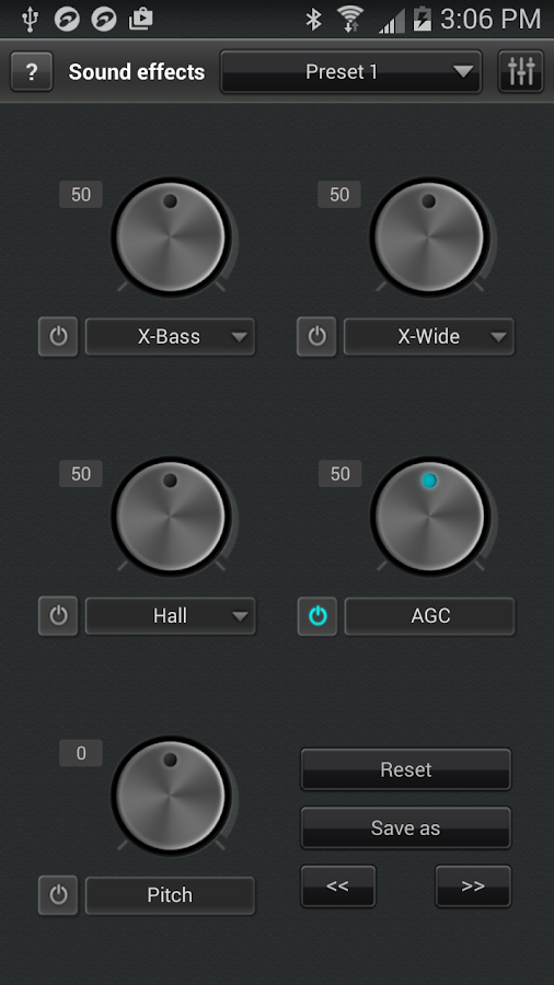 jetAudio Music Player+EQ- screenshot