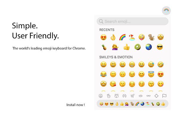 Emoji Keyboard: Emoticons and Smileys