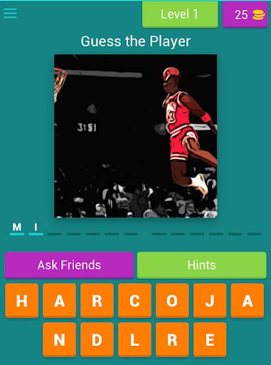 Guess the Basketball Player screenshot