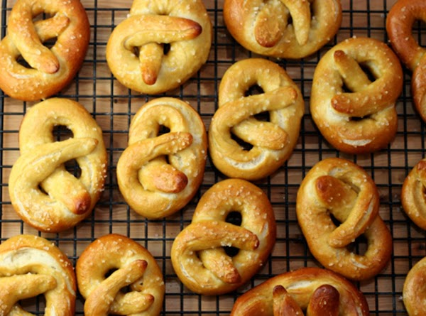 Soft Pretzels Recipe