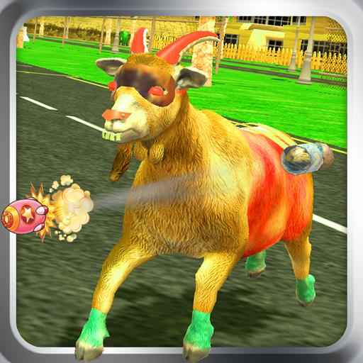 goat rampage simulator - wild life