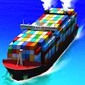 Sea Port: Cargo Ship & Town Build Tycoon Strategy icon
