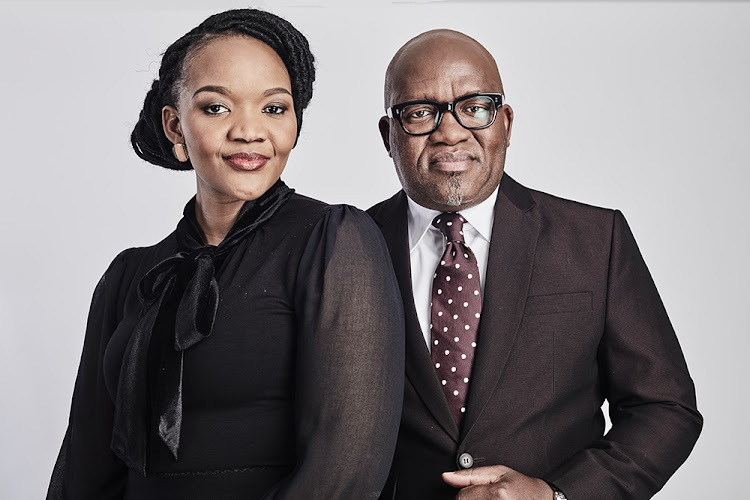 Cathy Mohlahlana and Vuyo Mvoko are the hosts of eNCA News Night. Picture: eNCA