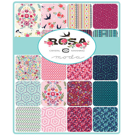 Jelly Roll Rosa by Moda Crystal Manning (16405)