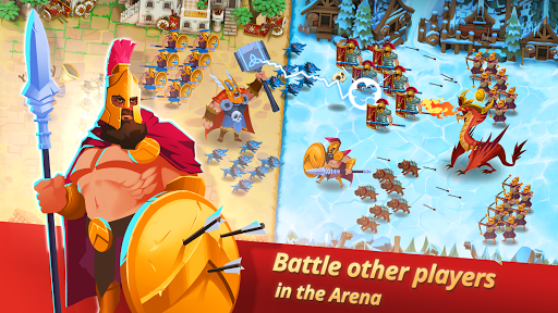 Game of Nations: Swipe for Battle Idle RPG apktram screenshots 2