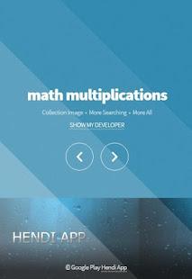 math multiplications – Apps bei Google Play