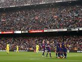 Twee Barça-spelers vallen uit