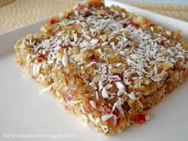 Pumpkin-coconut-cranberry Squares Recipe