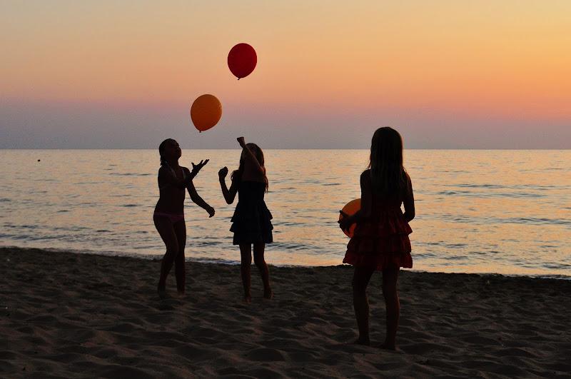Giochi al tramonto di Ilaria Bertini