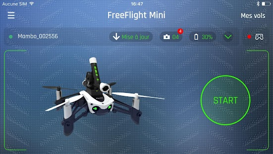 FreeFlight Mini: miniatura de captura de pantalla