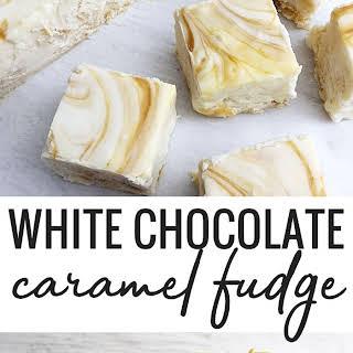White Chocolate Caramel Fudge.