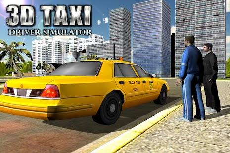 City Taxi Driver 3D Simulator - náhled