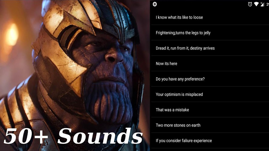 Download Thanos SoundBoard from Avengers Infinity War APK