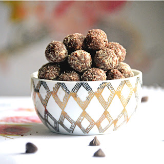 Chocolate Almond Bites.