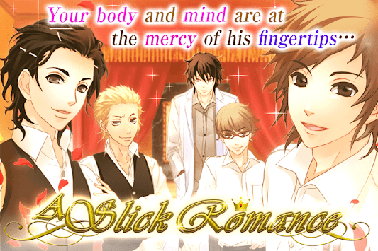 ... A Slick Romance : Otome games free dating sim poster ...