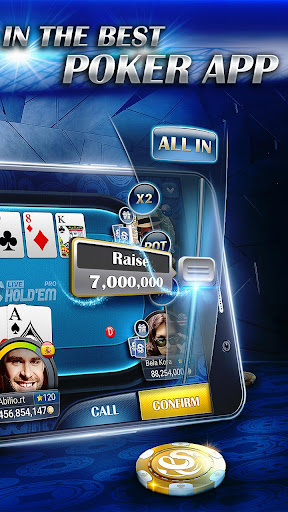 Live Hold'em Pro Poker - Free Casino Games screenshot 2