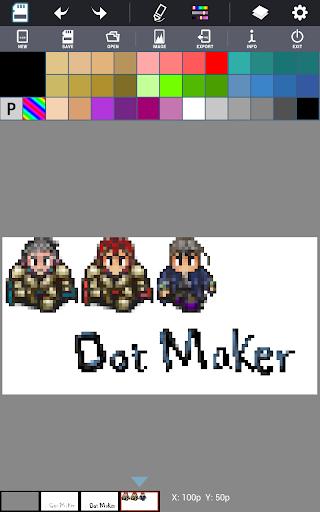Dot Maker - Pixel Art Painter screenshot 9