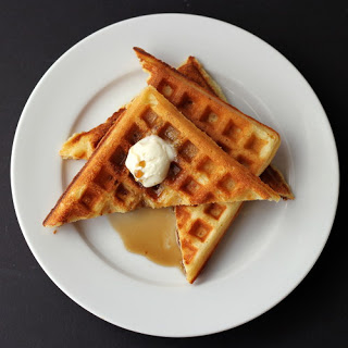 Brown Sugar and Sour Cream Waffles