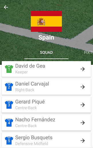 World Cup 2018 Live Scores & Fixtures 2.0.1 screenshots 6