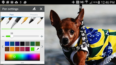 Traces for Samsung Note - 2016 - screenshot thumbnail 08